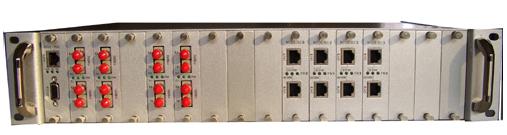 S4024M插卡式10/100M以太网光纤交换机