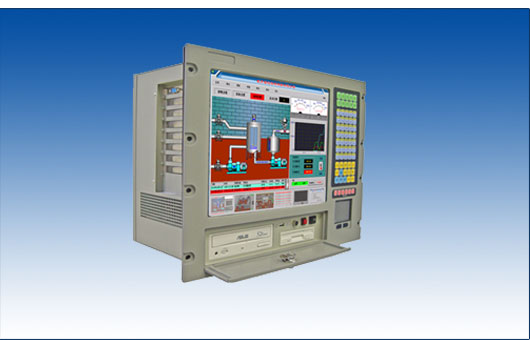 "ACS-3848P 8U 15"" TFT LCD显示工业级一体化工作站"