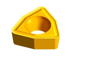 普通车削刀片 硬质合金及金陶刀片 正角刀片 W型刀片WCMX-53