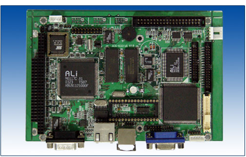 ACS-6331VE ALi M6117C 386嵌入式主板