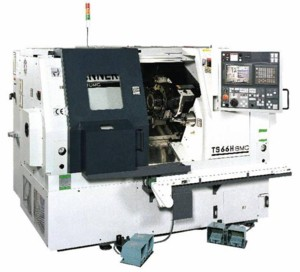 TS66L -MC 高效高精密CNC车床