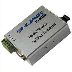 P-680C 工业级RS-232/485/422至SC头单模光纤转换器