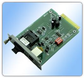 8541AJ机架式单模串口光端机