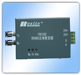 FM1202多模串口光端机