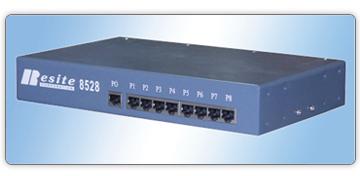 8528(集成的8路RS-232到422/485隔离转换器)