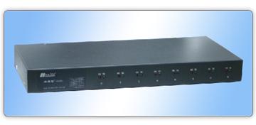 8528A(集成的8路RS-232到8路422/485隔离转换器)