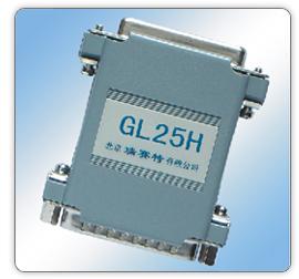 GL25H(25孔转25针,隔离TXD,RXD, DTR,DSR)隔离器