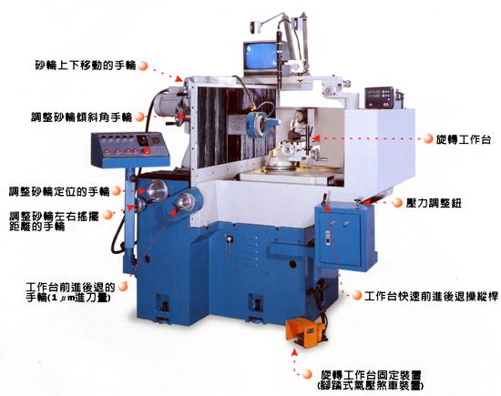 FC-500D  聚晶钻石&氮化硼刀具磨床