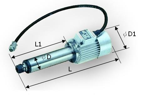 E0736W-15 精密电动主轴