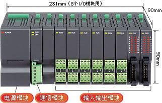 R5系列小型 自由组合型远程I/O