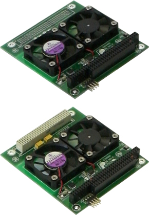 MISTRAL™ PC/104+或PC/104双风扇模块