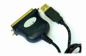 HX2212 USB到并口(打印口)转换线