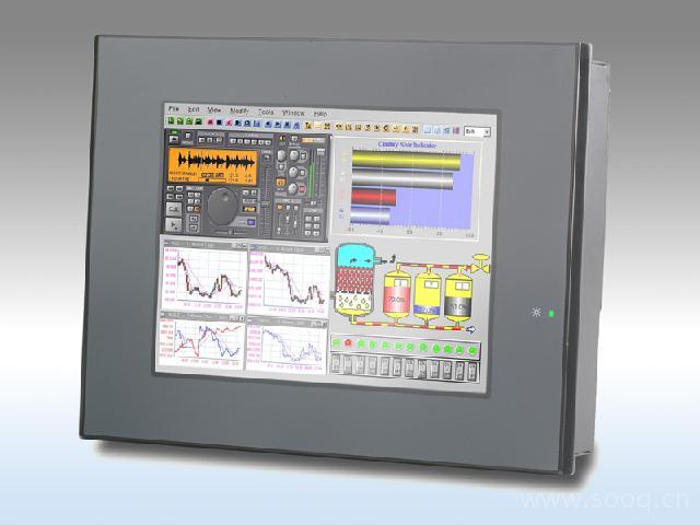 HMI-6081  无风扇工业触摸屏计算机
