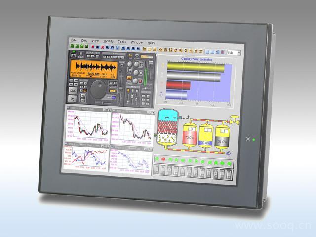 HMI-6124   无风扇工业触摸屏计算机