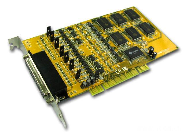 8169  工业型8口RS-422/485多串口卡