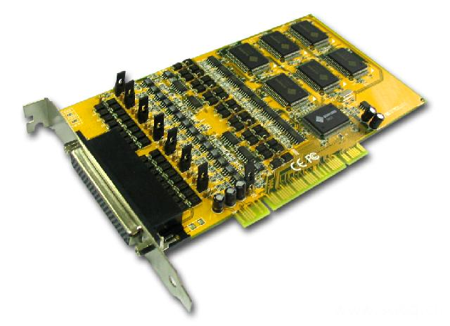 8169S  带浪涌保护工业型8口RS-422/485多串口卡