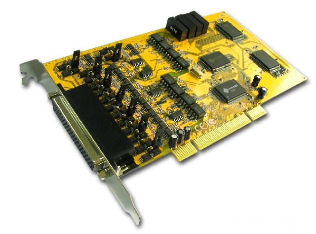 8169SI  带光电隔离和浪涌保护8口RS-422/485多串口卡