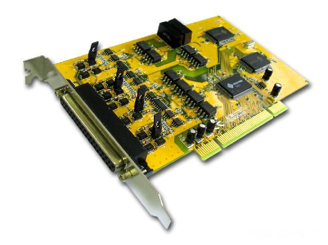 8159SI  带光电隔离和浪涌保护4口RS-422/485多串口卡