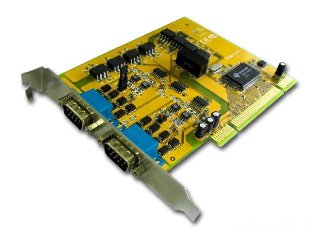 8139SI  带光电隔离和浪涌保护2口RS-422/485多串口卡