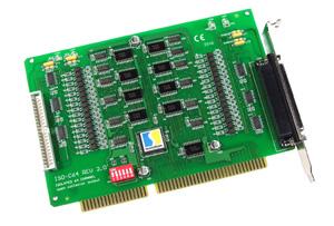 ISO-C64  ISA总线隔离数据采集板卡