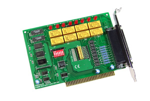 P8R8DIO ISA总线隔离数据采集板卡