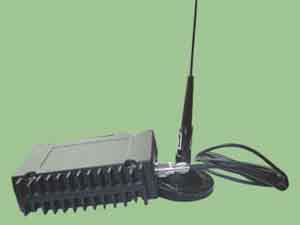 25W无线云台遥控指令发射机