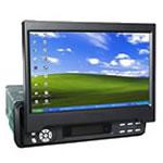 7寸全自动伸缩型带DVD带TV液晶显示器
