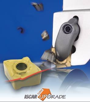 HELITURNLD80°菱形刀片--螺旋切削刃用于快速金属切削