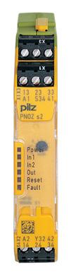 紧凑型安全继电器PNOZ S2