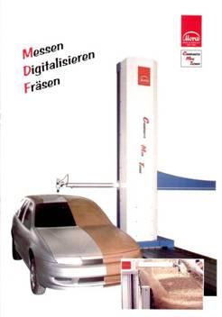 MDM 测量-数字-化铣削系统