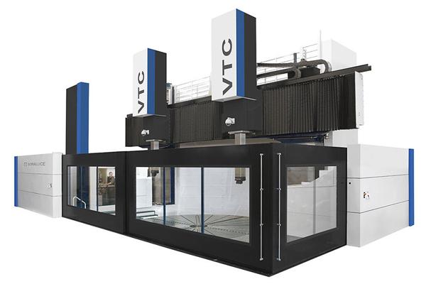VTC LARGE- 大型立式车床 用于大尺寸工件的高精度多功能机床