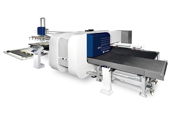 CUPRA- 冲剪复合机床 用于矩形工件的理想解决方案