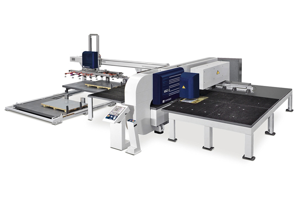 SILVER- 冲+激光复合机床 高附加值工件的理想解决方案