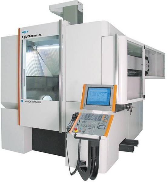瑞士GF阿奇夏米尔MIKRON HPM 600 U五轴联动高性能镗铣加工中心