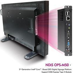 数字标牌播放器NDiS OPS-M50