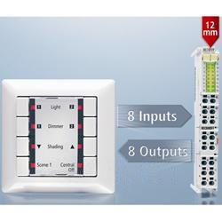 16通道端子模块可节省更多的控制柜空间