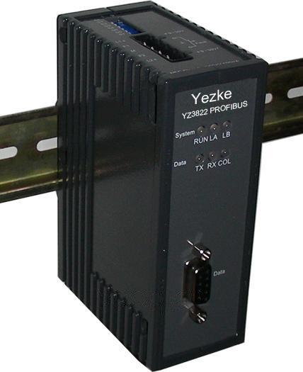 Profibus总线双环自愈光纤转换器[YZ3822]