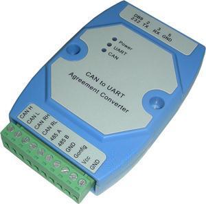 CAN232-CAN至RS232隔离转换器(支持CAN2.0B标准协议)