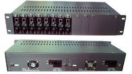 14路光纤MODEM机架[YZ3000]