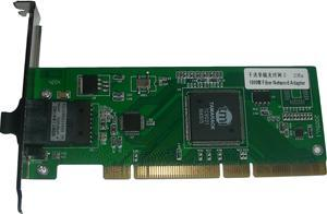 10/100/1000M自适应PCI以太网光纤网卡