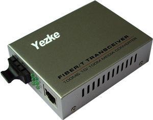 10/100M单模单纤收发器(外置电源)