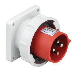 32A4极带盖明装器具输入插座