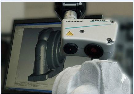 Shapetracer3维线性激光扫描测头
