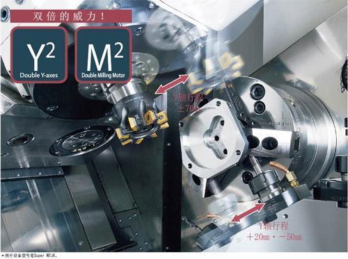 中村留 ATC 型复合加工机
