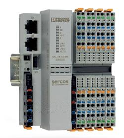 用于第三代SERCOS的带有总线耦合器的Axioline