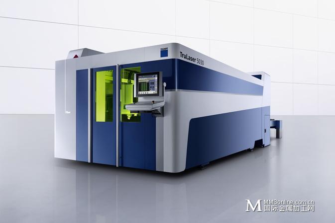 通快TruLaser 5030 fiber/5040 fiber 光纤激光切割机 让您在板材加工中保持领先优势
